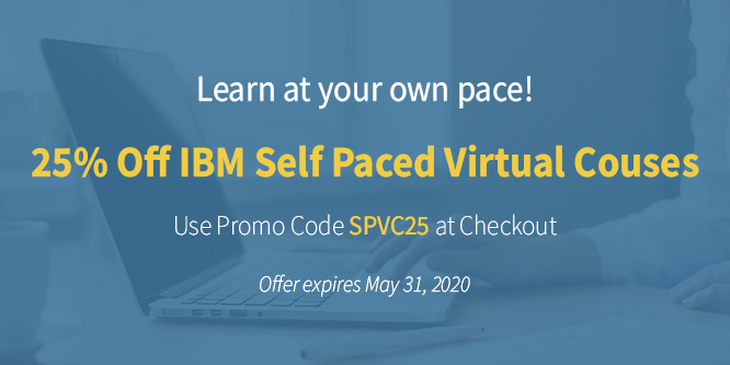 25% Off IBM Self Paced Courses